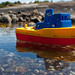 Small photo of Toy boat