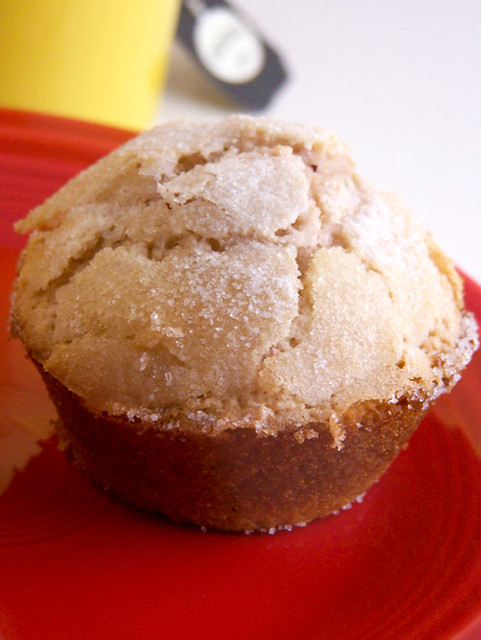 Light Strawberry-Lemon Muffins