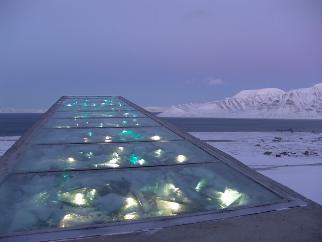 Roof of Seed Vault