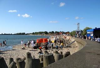 Plaża Miejska Hel 근처 의 이미지. sea beach strand meer poland polska baltic polen peninsula ostsee hel pommern morze hela halbinsel nehrung pomorze bałtyckie kaschubien mierzeja helska panzersperren putziger