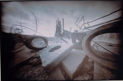 Pinhole Dreams Series; Carrie Furnace by John Fobes