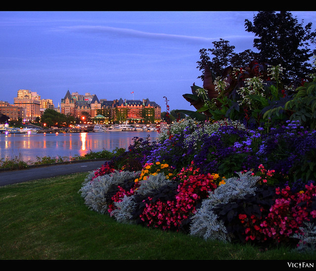 Laurel Point Park in Victoria B.C