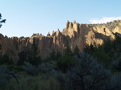 Limestone Formations of Smith Rock