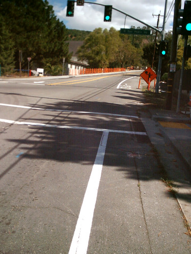 New Lane Striping