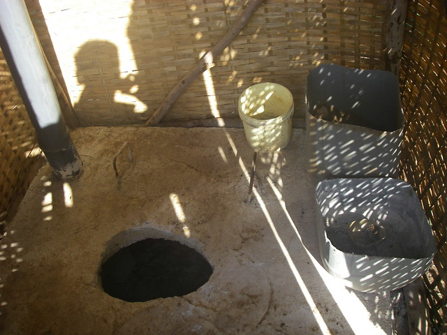 Ventilated Dry Pit Latrine Flickr Photo Sharing