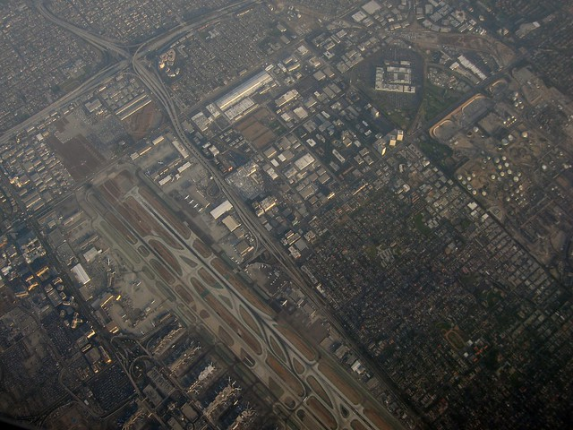 Overhead Los Angeles International