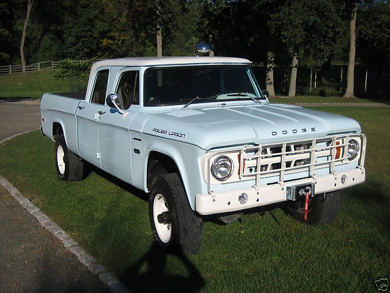 1968 W200 4X4 4WD crew cab dodge sweptline pickup truck mopar - a photo on Flickriver