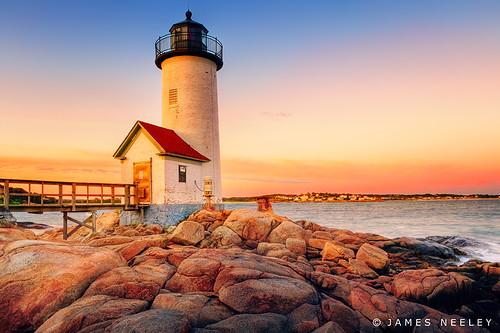 lighthouse sunrise searchthebest massachusetts gloucester hdr capeanne 5xp mywinners jamesneeley flickr13 annisquamharborlight