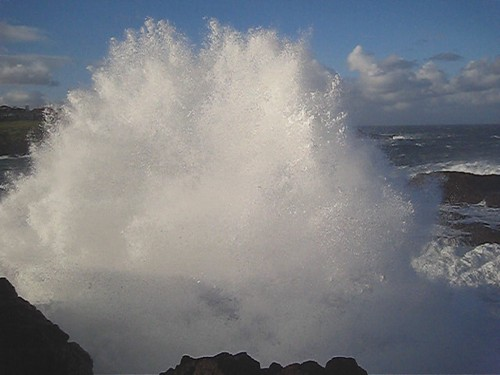 Video of wild seas