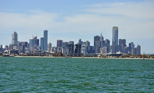 Melbourne from the sea