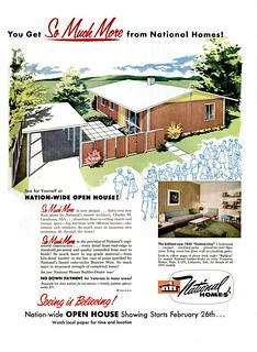 National Homes Ad - Life 1955