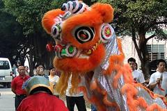 Guangdong 2006 - Lion dance performance