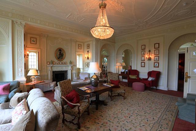 Inside Bovey Castle