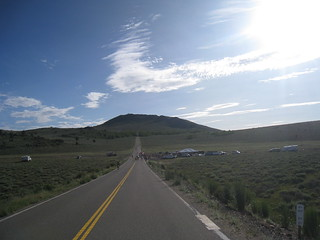 rest stop in the valley at Monitor Pass