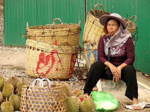 Woman at Market - Kep - Cambodia