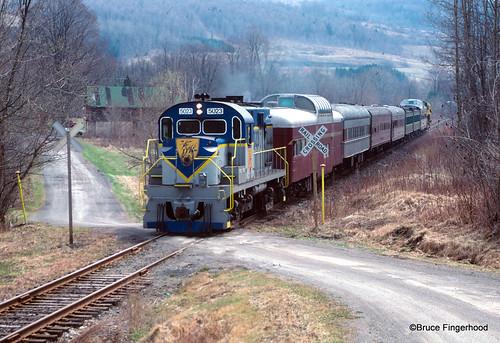 maple fest train.