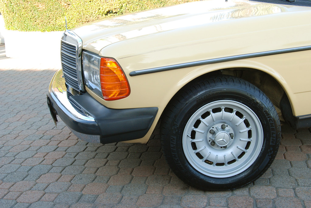 W123 tire size for 15inch wheels mercedes benz forum for Mercedes benz tire sizes