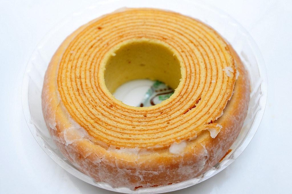 銀座文明堂年輪蛋糕