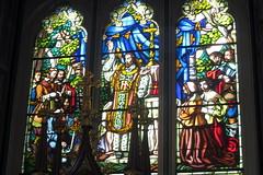 Montréal - Vieux-Montréal: Basilique Notre-Dame de Montréal - Stained glass windows