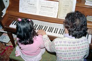 Desiree's piano lesson