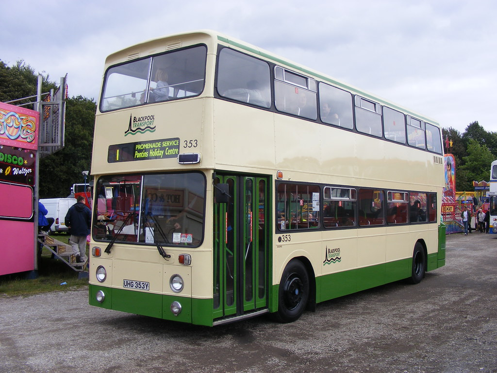 Leyland Atlantean/East Lancs 353 UHG353Y Blackpool Transport
