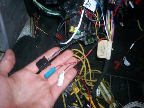 diesel swapped corrado cluster wiring