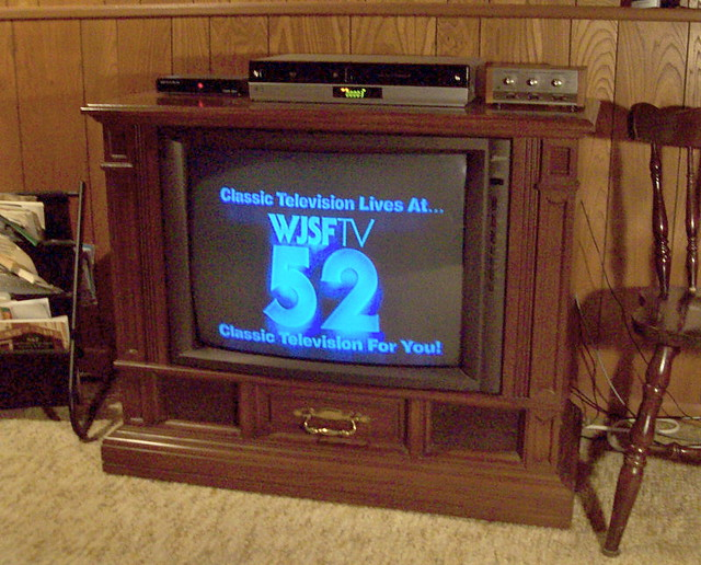Zenith console tv i got this from my