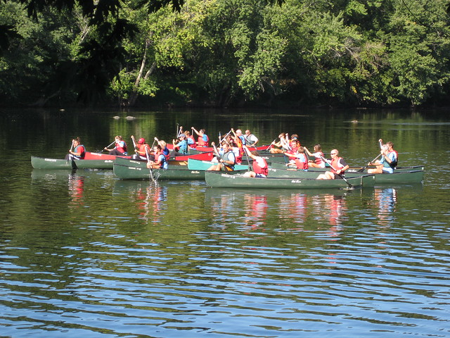 Canoeing at James River State Park
