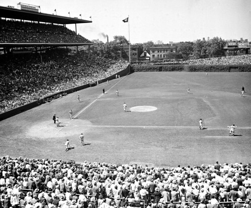 Wrigley Field in 1947
