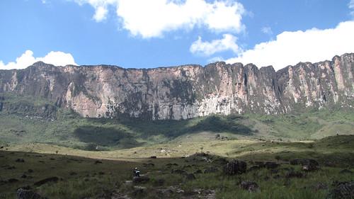 trekking view venezuela roraima