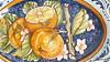 Oval Orange Platter