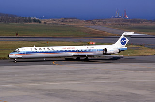 China Northern Airlines MD-90-30 (B-2255/53528/2177)
