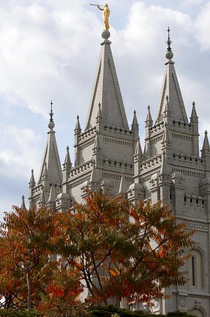 Salt Lake City in the Autumn