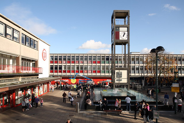 Stevenage Town Square Flickr Photo Sharing