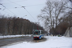Moscow tram 71-608K 4131 Nagatino end track _20090308_017