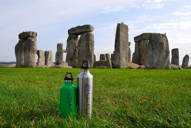 HydroFlask at Stonehenge