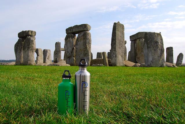 HydroFlask at Stonehenge