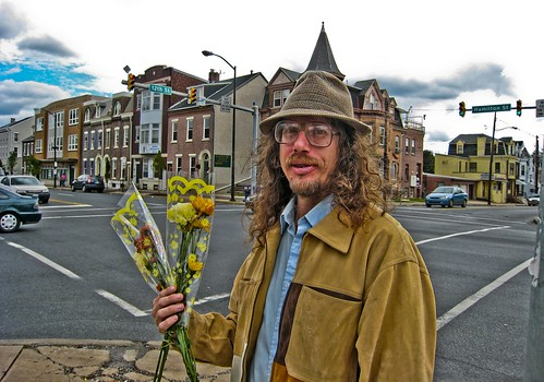 Photo of Allentown Flower Man