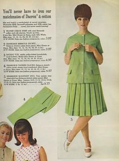 1966 Spiegel catalog Dacron and ...