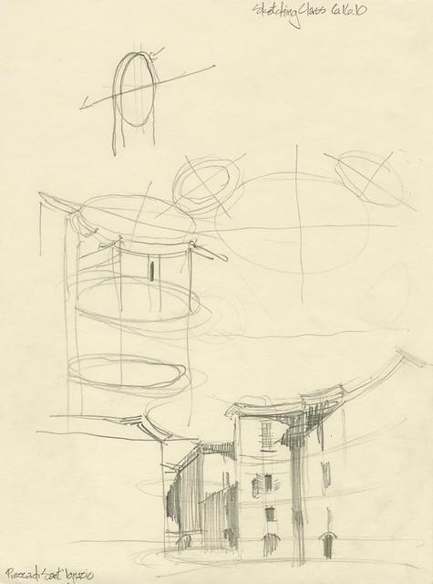Sketching Class at Sant'Ignazio - Roma, Italia