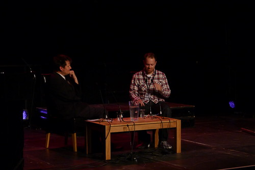 DJ Shadow talk @ Brighton 1
