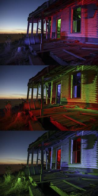 Back Porch Triptych II