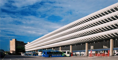 Preston Bus Station Lancashire