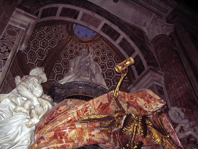 Header of pope alexander vii