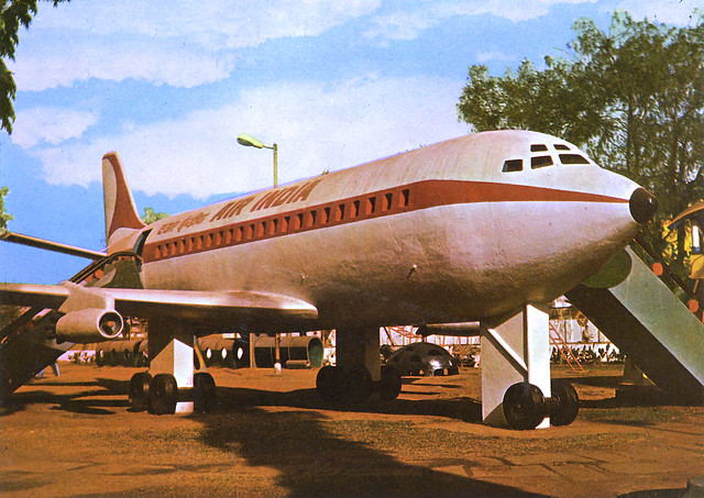 Air-India Boeing 707 Juhu Garden Bombay