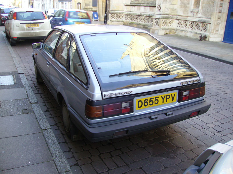 B11 Datsun/Nissan Sunny 1981-85 | Datsun Club UK forum