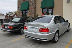 coupã©(0.0), sports car(0.0), automobile(1.0), automotive exterior(1.0), executive car(1.0), bmw 3 series (f30)(1.0), wheel(1.0), vehicle(1.0), automotive design(1.0), bmw 320(1.0), rim(1.0), bmw 3 series (e90)(1.0), bmw 3 series (e36)(1.0), bumper(1.0), sedan(1.0), land vehicle(1.0), luxury vehicle(1.0), vehicle registration plate(1.0), convertible(1.0),