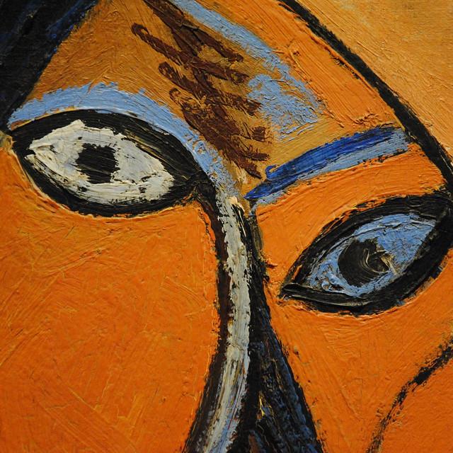 Un dettaglio di un quadro di Picasso