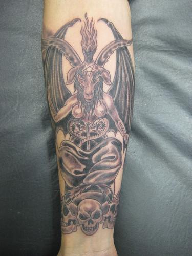 Tattoo Baphomet  Tatuagem