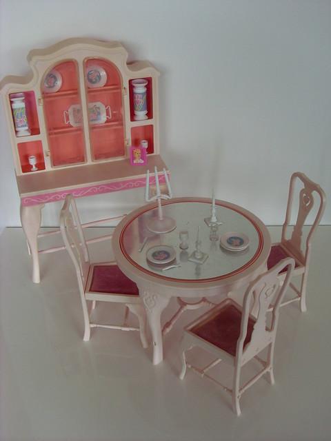 barbie dining room set | Barbie Dining room set 1985 | Flickr - Photo Sharing!
